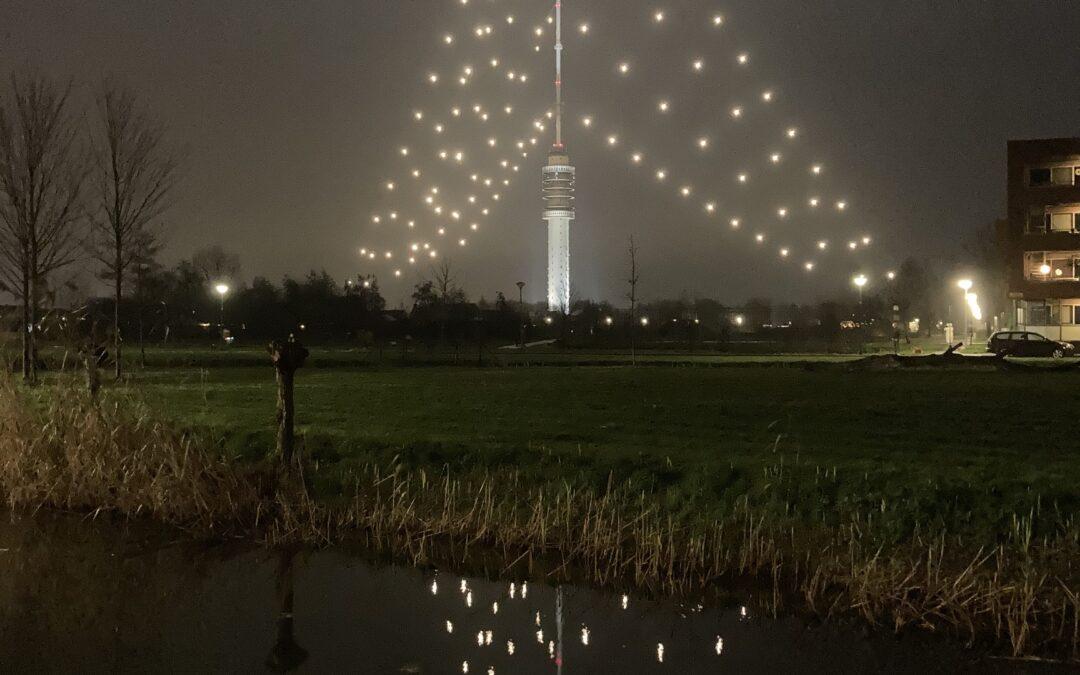 Zendmast Kerstboom